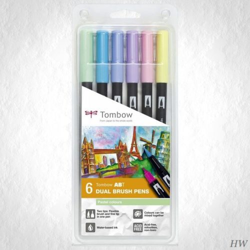 Tombow Dual Brush Pen ABT-6P-2