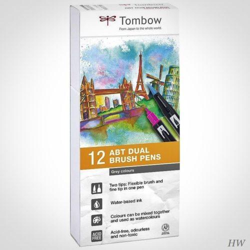 Tombow Dual Brush Pen ABT-12P-3