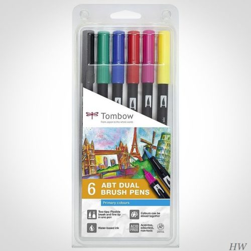 Tombow Dual Brush Pen ABT-6P-1