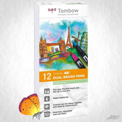 Tombow Dual Brush Pen ABT-12P-2