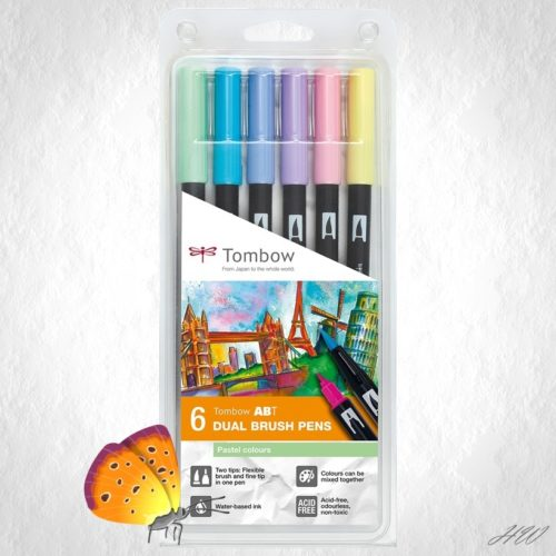 Tombow Dual Brush Pen ABT-6P-2