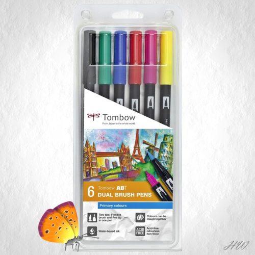 Tombow Dual Brush Pen ABT-6P-1