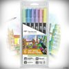 Tombow Dual Brush Pen ABT-6P-2 Pastellfarben_2018_1