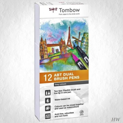 Tombow Dual Brush Pen ABT-12P-3