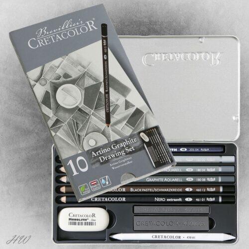 Cretacolor Graphite-Set Artino