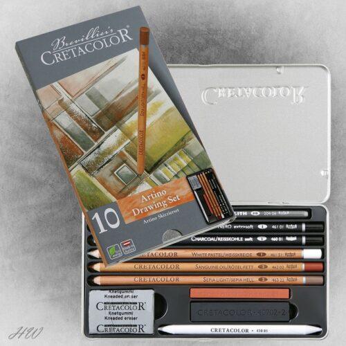 Cretacolor Artino Skizzier-Set