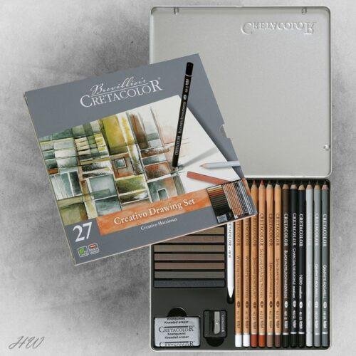 Cretacolor Creativo Skizzier-Set