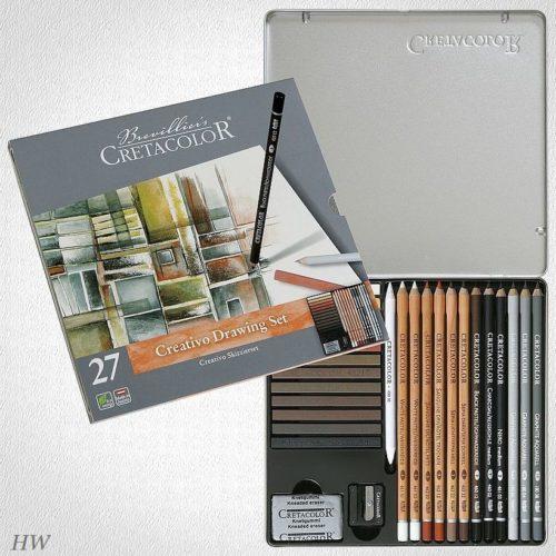 Cretacolor Creativo Skizzier-Set 40031