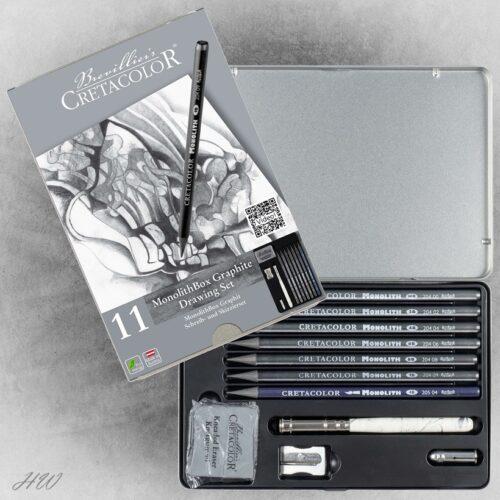 Cretacolor Monolith Graphite-Set 20430