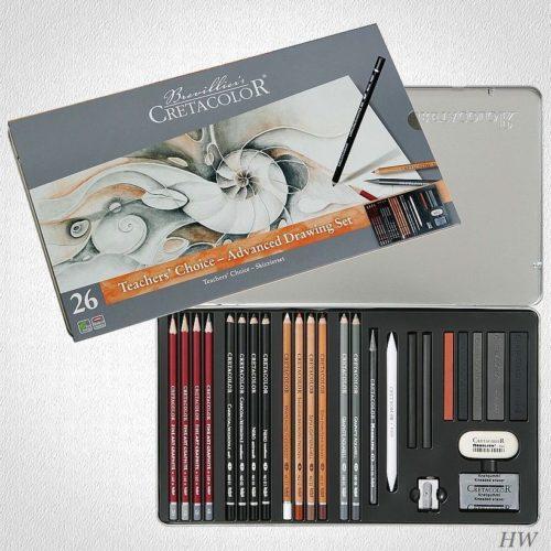 Cretacolor Skizzier-Set Teachers Choise 40042