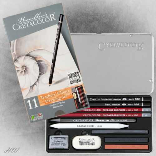 Cretacolor Skizzier-Set Teachers Choise 40032