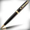 Diplomat Kugelschreiber Excellence A2 Lack schwarz-gold