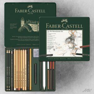 Faber Castell Pitt Monochrome-Set 112976