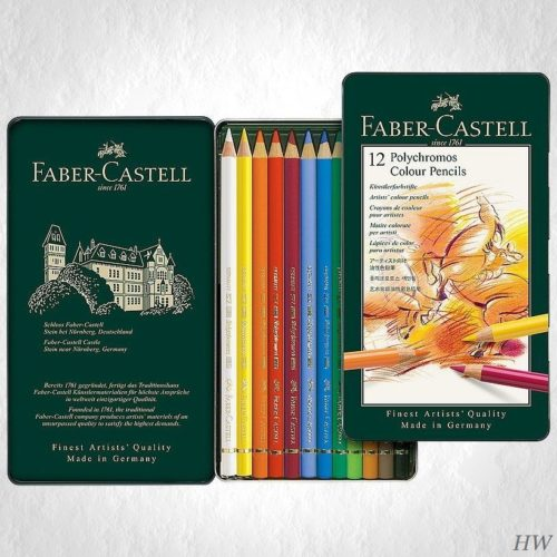 Faber Castell Polychromos Künstlerfarbstifte 110012