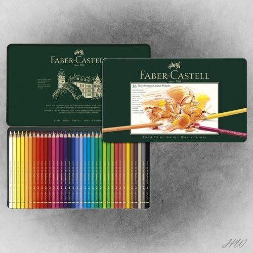 Faber Castell Polychromos Künstlerfarbstifte 110036
