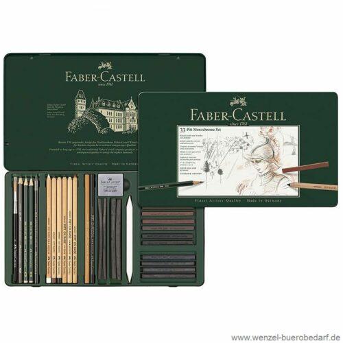 Faber Castell Pitt Monochrome-Set 112977_1