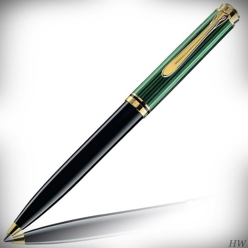 Pelikan Kugelschreiber Souverän K300_2018_ schwarz-grün