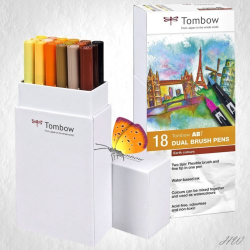 Tombow Dual Brush Pen ABT-18P-3