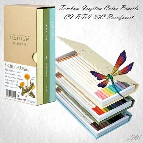Tombow Irojiten Color Pencils CI-RTA-30C