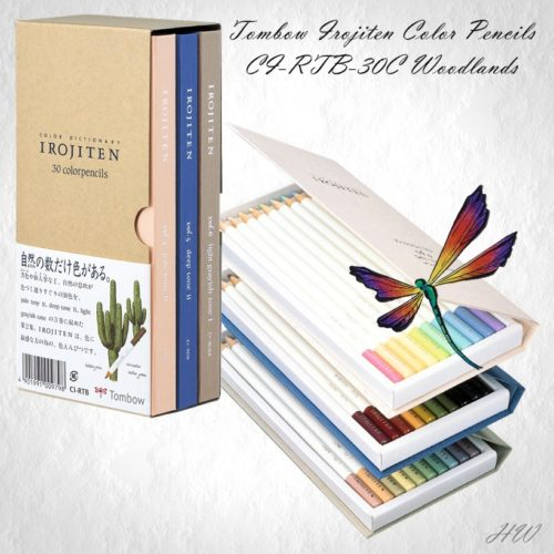 Tombow Irojiten Color Pencils CI-RTB-30C