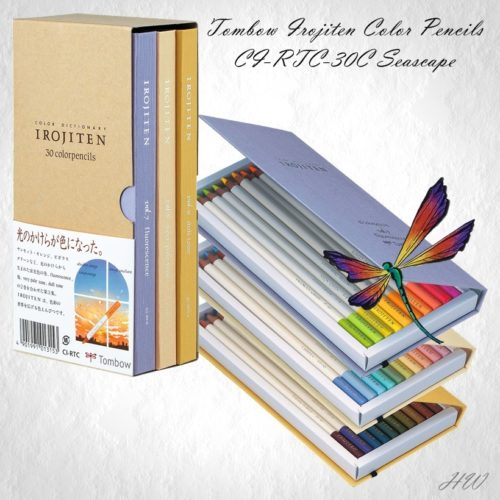 Tombow Irojiten Color Pencils CI-RTC-30C