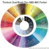 Tombow Dual Brush Pen AB-S-96C Farben