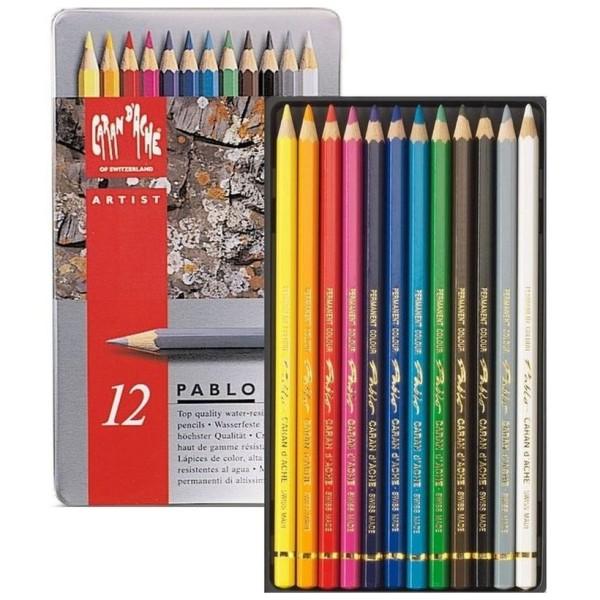 Crayons de couleurs quelle marque ? - Page 6 Caran-d%C2%B4Ache-K%C3%BCnstlerstifte-Pablo-im-12er-Metalletui-600x600