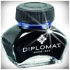 Diplomat Füllhaltertinte im 30 ml. Glas-Flakon_blau_hw_2018_1