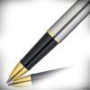 Diplomat Tintenroller Traveller Edelstahl Gold_2020_2