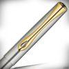 Diplomat Tintenroller Traveller Edelstahl Gold_2020_3