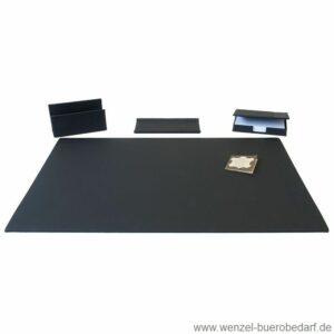 Läufer Schreibtisch-Garnitur La Linea aus Rindsleder