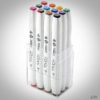 ShinHan Touch Twin Brush Marker Main Colors