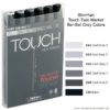 ShinHan Touch Twin Marker Grey Colors A_17696026_8809326960263