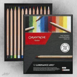 Caran d´Ache Farbstifte Luminance 6901-12