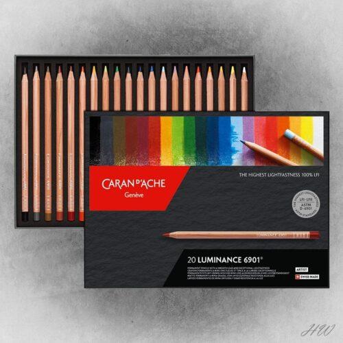 Caran d´Ache Farbstifte Luminance 6901-20
