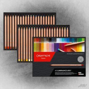 Caran d´Ache Farbstifte Luminance 6901-40