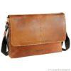 Bugatti Messenger-Bag Grinta M cognac
