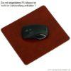 PA Leder-Mousepad Wall Street 1476_neu_braun
