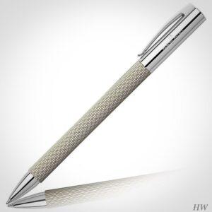 Faber Castell Kugelschreiber Ambition OpArt White Sand