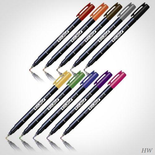 Tombow Fudenosuke Brush Pen WS-BH