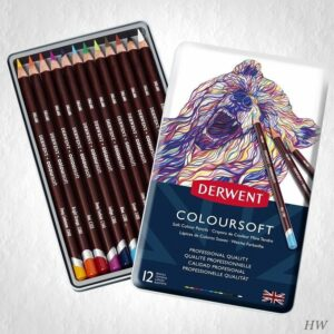 Derwent Coloursoft Farbstifte 12