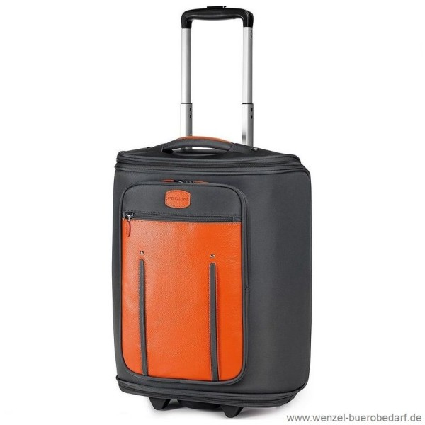 ... Fedon Kabinen-Trolley Marco Polo orange-grau ... 28bb9a4400b