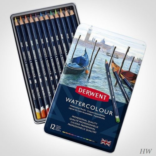 Derwent Watercolour Aquarellstifte 12