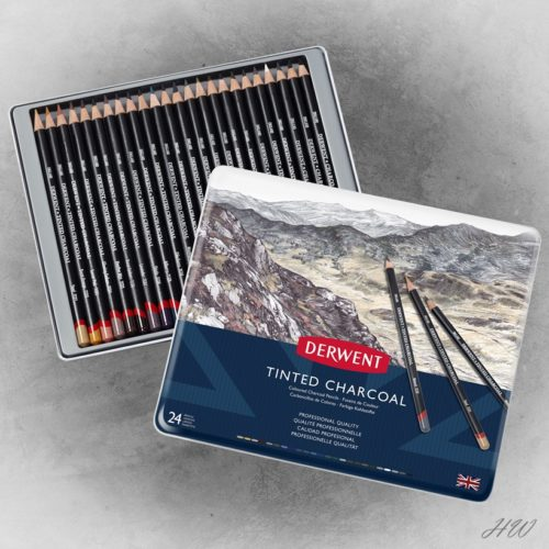 Derwent Tinted Charcoal 24