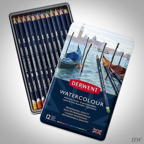 Derwent Watercolour Aquarellstifte 12