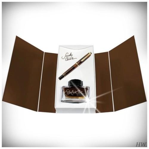 Pelikan Füllfederhalter M200 Geschenk-Set Smoky Quarz