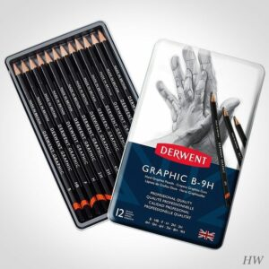 Derwent Graphitstifte Graphic 12H