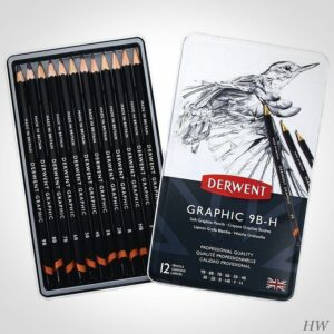 Derwent Graphitstifte Graphic 12S