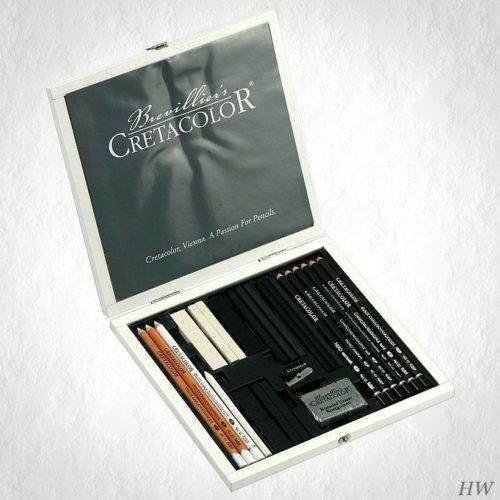 Cretacolor Black-White Box 40025