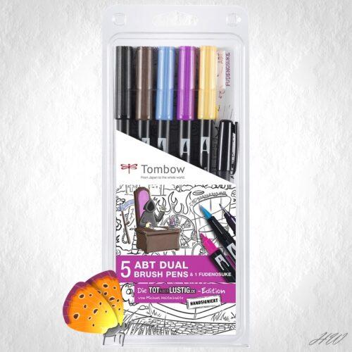Tombow Dual Brush Pen ABT-5P-MH
